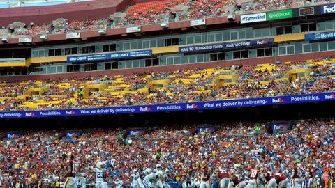 <p>               FILE - In this Sept. 16, 2018, file photo, spectators watch the first half of an NFL football game between the Washington Redskins and the Indianapolis Colts at FedEx Field in Landover, Md. Washington is 3-2 at home this season and leads the NFC East. But after cornerback Josh Norman called out Redskins fans in the aftermath of an ugly victory at Tampa Bay, the spotlight is on the atmosphere at FedEx Field Sunday against the AFC South-leading Houston Texans.  (AP Photo/Mark Tenally, File)             </p>