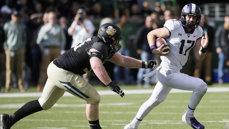 TCU holds off Baylor behind backup QB Grayson Muehlstein