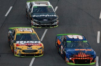 How Kevin Harvick's penalty affects the drivers below the cut line