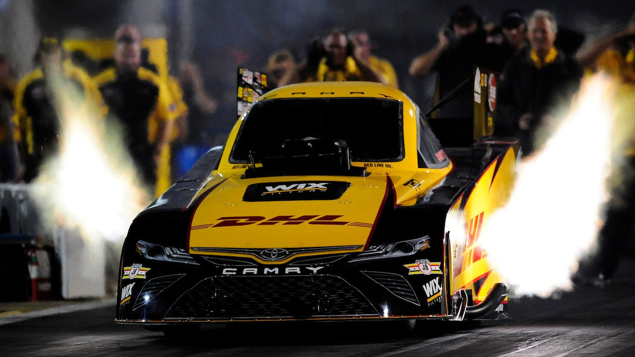 J R  Todd wins the 2018 Funny Car championship | 2018 NHRA DRAG RACING