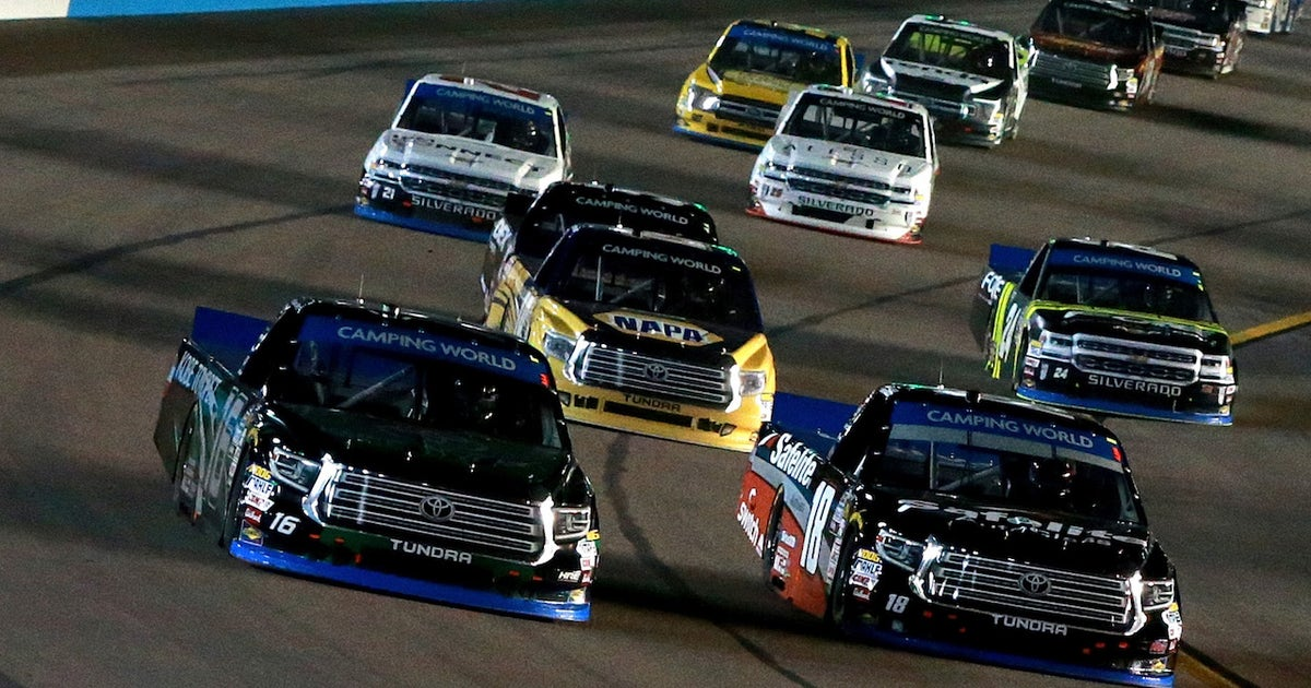 The Truck Series Championship 4 talk about who they think is their biggest competition for the title