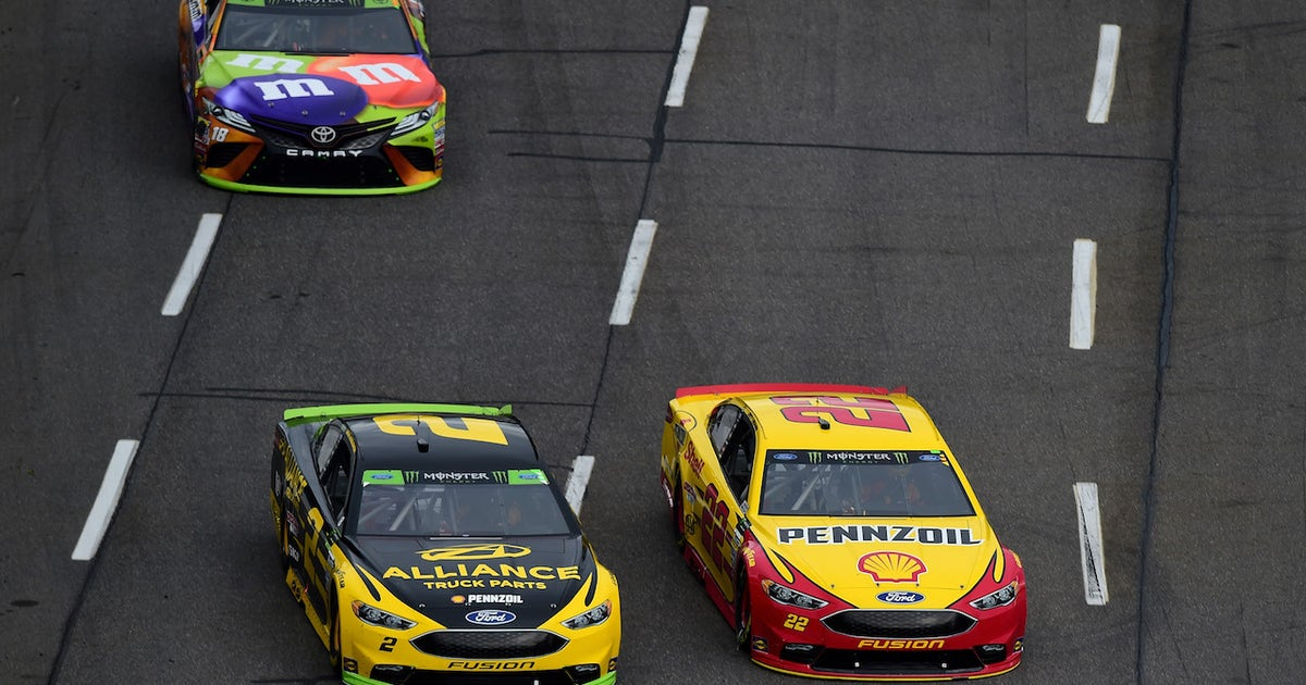Kyle Busch still isn't trying to hide his disdain for Joey Logano and Brad Keselowski