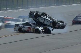 NASCAR Race Hub Fans' Choice Awards: Wildest Wreck - Jamie McMurray at Talladega