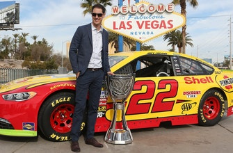Joey Logano talks thrill of going to the Cup banquet as the champion & buying a new tux for the first time since 2009