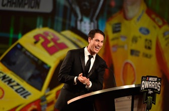 2018 champion Joey Logano gives heartfelt speech at the Cup Series banquet in Las Vegas