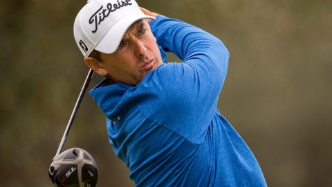 <p>               Charles Howell III watches his drive off the second tee during the final round of the RSM Classic golf tournament on Sunday, Nov. 18, 2018, in St. Simons Island, Ga. (AP Photo/Stephen B. Morton)             </p>