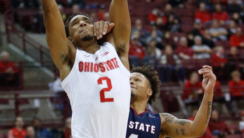 Kaleb Wesson leads Ohio State past S.C. State 89-61