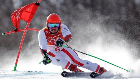 <p>               FILE - In this Feb. 18, 2018, file photo, Austria's Marcel Hirscher competes during the men's giant slalom at the 2018 Winter Olympics in Pyeongchang, South Korea. For season after season, Hirscher felt pressure to constantly defend his overall World Cup title. This season, the weight isn't as much as he tries to capture his eighth straight crystal globe. (AP Photo/Luca Bruno, File)             </p>