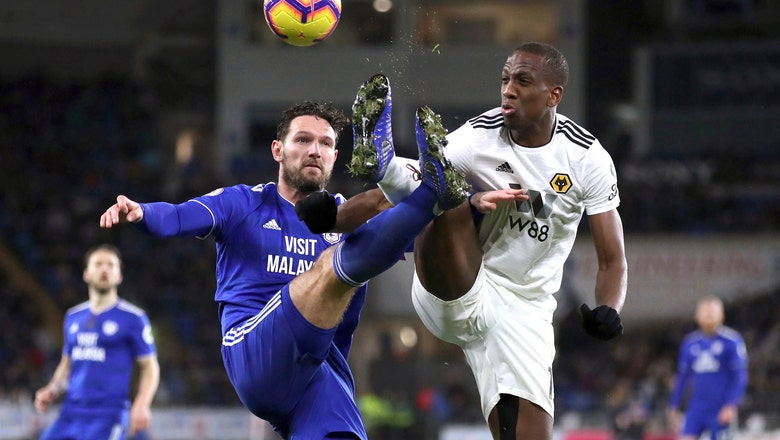 Cardiff climbs out of drop zone with 2-1 win over Wolves