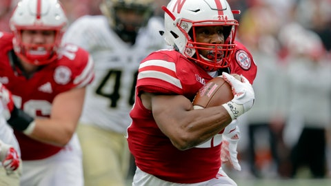 <p>               FILE - In this Sept. 29, 2018, file photo, Nebraska running back Devine Ozigbo (22) carries the ball during the first half of an NCAA college football game against Purdue, in Lincoln, Neb. His 493 yards and three touchdowns led the woeful Cornhuskers in rushing last season, but he's become the team's most-improved player this year. He's compiled 710 rushing yards and eight touchdowns through eight games, while averaging 7.4 yards per carry. He's reached the 100-yard mark in four of the past five games. (AP Photo/Nati Harnik, File)             </p>