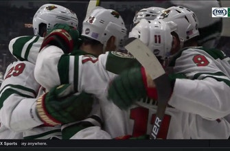 WATCH: Parise tallies 700th career point in Wild's win