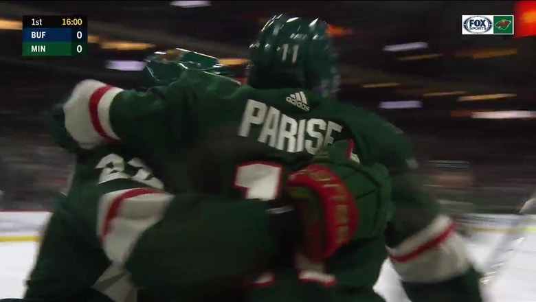 WATCH: Parise becomes all-time leading goal scorer among Minnesota-born players