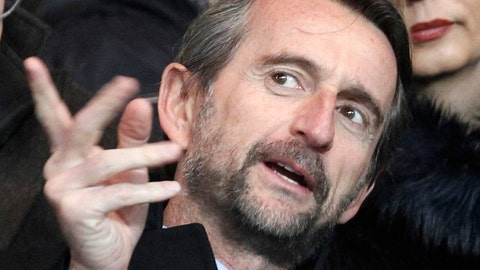 <p>               FILE - In this file photo dated Friday, Feb. 14, 2014, Paris Saint Germain's Jean-Claude Blanc, prior to the French League one soccer match between Paris Saint Germain and Valenciennes, at the Parc des Princes stadium, in Paris.  PSG's deputy chief executive officer Jean-Claude Blanc spoke of his outrage Thursday Nov. 8, 2018, and pledged an investigation into some club scouts who secretly and illegally profiled potential young recruits from outside the Paris region with lists containing their ethnic origins.(AP Photo/Thibault Camus, FILE)             </p>