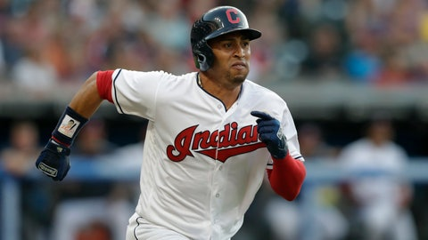 <p>               FILE - In this Aug. 4, 2018, file photo, Cleveland Indians' Leonys Martin runs out a ground ball during the team's baseball game against the Los Angeles Angels in Cleveland. Cleveland Indians outfielder Leonys Martin has been cleared to resume all activity after surviving a life-threatening illness, Tuesday, Nov. 20, 2018. Martin contracted a serious bacterial infection in August that affected his vital organs. Martin's condition rapidly worsened before doctors were able to treat and destroy the infection. (AP Photo/Tony Dejak, File)             </p>