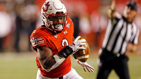 <p>               FILE - In this Oct. 20, 2018, file photo, Utah running back Zack Moss (2) carries the ball in the second half during an NCAA college football game against Southern California in Salt Lake City. The big question facing Utah when it hosts Oregon is whether Jason Shelley can pick up where Tyler Huntley left off. The Utes will need Shelley to adjust to his new role quickly after losing Moss to a knee injury. Moss suffered the injury at practice on Wednesday and now will require season-ending surgery. (AP Photo/Rick Bowmer, File)             </p>