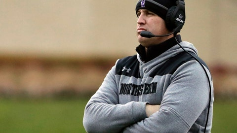 <p>               FILE - In this Nov. 24, 2018, file photo, Northwestern head coach Pat Fitzgerald watches his team during the first half of an NCAA college football game against Illinois in Evanston, Ill. No. 21 Northwestern set to face No. 6 Ohio State in the Wildcats' first Big Ten championship game appearance on Saturday, Dec. 1, 2018, in what could be a signature moment for a consistent winner trying to earn its spot among the conference's elite. (AP Photo/Nam Y. Huh, File)             </p>