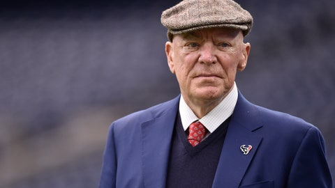 "<p>               FILE - In this Jan. 7, 2017, file photo, Texans owner Robert ""Bob"" McNair walks on the turf before an AFC Wild Card NFL game between the Texans and the Oakland Raiders, in Houston. McNair, billionaire founder and owner of the Texans, has died. He was 81. One of the NFL's most influential owners, McNair had battled both leukemia and squamous cell carcinoma in recent years before dying in Houston on Friday, Nov. 23, 2018. (AP Photo/Eric Christian Smith, File)             </p>"