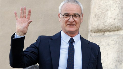 <p>               FILE - In this Thursday, March 30, 2017 file photo, soccer coach Claudio Ranieri waves from a balcony of Rome's Capitol Hill,  after receiving an honorary award for his work at Leicester City. The arrival of Claudio Ranieri as Fulham's new coach should ensure an end to the chaotic selections, loose defending and naive approach that marked the team's turbulent first three months back in the Premier League.  (AP Photo/Andrew Medichini, File)             </p>