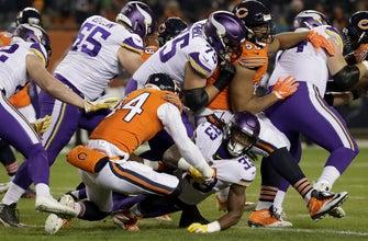 Vikings' rushing attack shut down by Bears