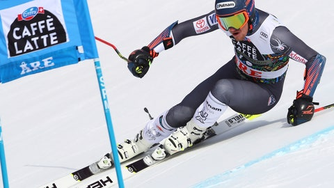 <p>               FILE - In this March 17, 2018, file photo, United States' Ted Ligety competes during a men's giant slalom ski race at the World Cup finals in Are, Sweden. For years, Ligety has been plagued by knee and back issues. Healthier than he's been in a while, Ligety's looking to return to the giant slalom form that allowed him once challenge Austrian standout Marcel Hirscher supremacy in the discipline. (AP Photo/Alessandro Trovati, File)             </p>