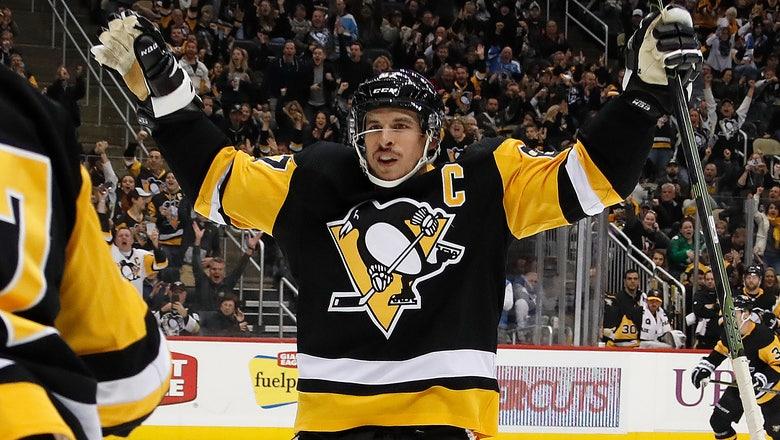 Crosby, DeSmith help Penguins snap 5-game skid