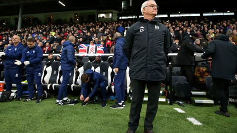<p>               Fulham manager Claudio Ranieri looks on prior to kick-off of the English Premier League soccer match against Southampton at Craven Cottage, London, Saturday, Nov. 24, 2018. (Steven Paston/PA via AP)             </p>