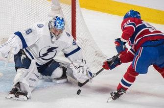Stamkos scores twice, leads Lightning past Canadiens 4-1