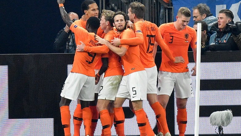 Rejuvenated Dutch strike late, into Nations League's Final 4