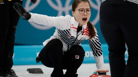 <p>               FILE - In this Feb. 25, 2018 file photo, Kim Eun-jung, of South Korea, yells during their women's curling final in the Gangneung Curling Centre at the 2018 Winter Olympics in Gangneung, South Korea. Five-member women's curling team accused former Korean Curling Federation (KCF) vice-president Kim Kyong-doo of verbal abuse and team coaches of giving unreasonable orders and subjecting their private lives to excessive control. (AP Photo/Aaron Favila, File)             </p>
