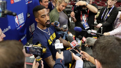 J.R. Smith parting ways with Cleveland Cavaliers