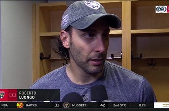 Roberto Luongo breaks down how Blue Jackets pulled away late, his first loss of season
