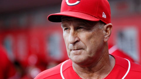 <p>               FILE - In this Sept. 29, 2018 file photo Cincinnati Reds interim manager Jim Riggleman works in the dugout in the eighth inning of a baseball game against the Pittsburgh Pirates in Cincinnati. Riggleman has been hired by the New York Mets as bench coach for Mickey Callaway. He replaces Gary DiSarcina, who is shifting to third base coach. New York, which announced the hiring Monday, Nov. 26, 2018 went 77-85 in Callaway's first season as a manager, and Callaway drew attention for game management. (AP Photo/John Minchillo)             </p>