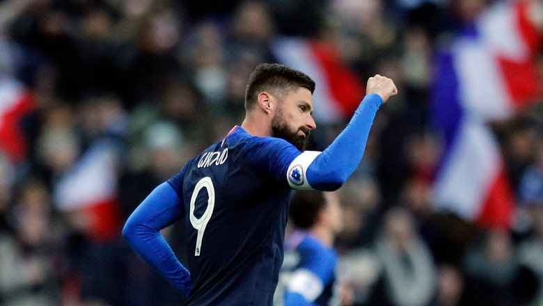 World champion France beats Uruguay to cap successful year