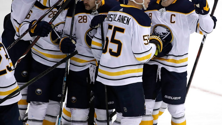 Eichel's overtime goal sends Sabres past Penguins 5-4