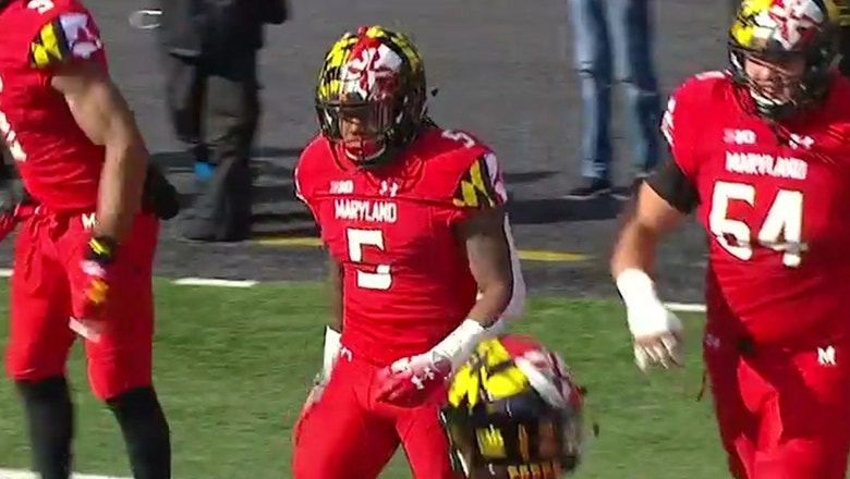 Maryland's Anthony McFarland breaks a pair of 75 yard touchdown runs but No. 10 Ohio State wins in OT