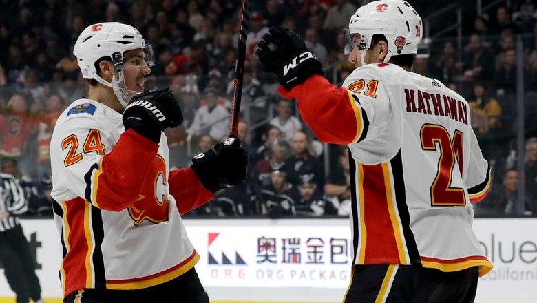 Rittich, Hamonic lead Flames to 1-0 win over Kings