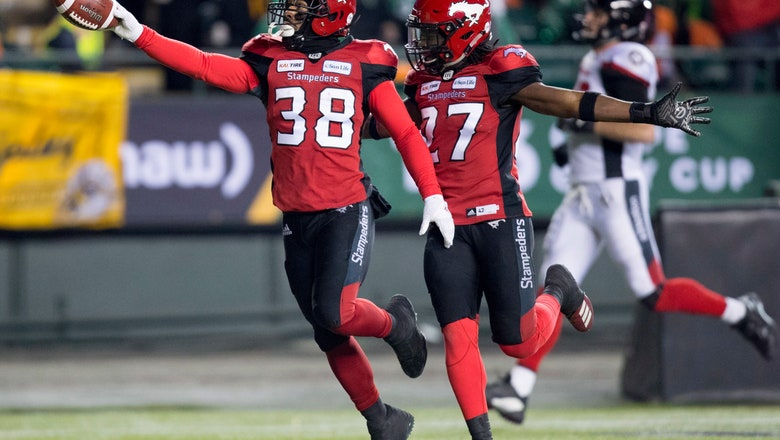 Calgary Stampeders win Grey Cup, beating Ottawa 27-16