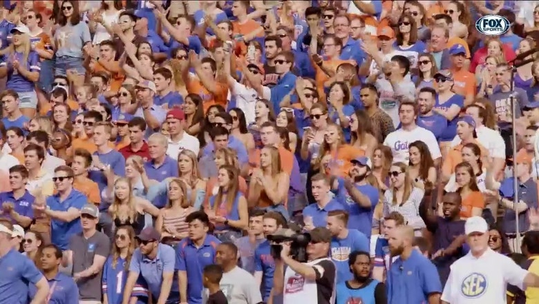 Dan Mullen explains how Florida rallied in 2nd half to beat South Carolina