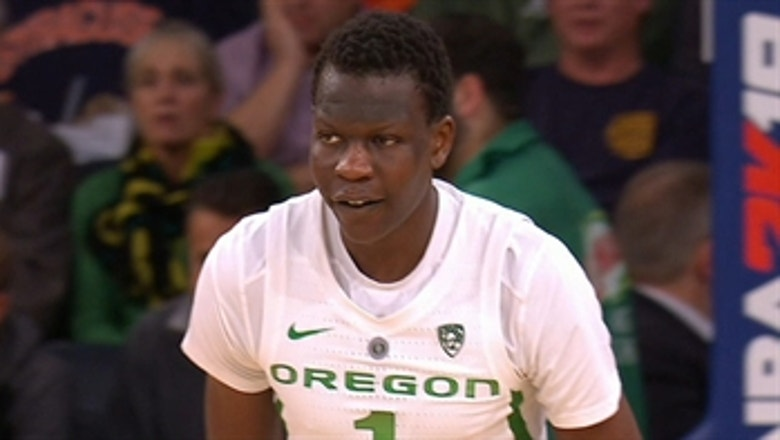 WATCH: Bol Bol drops 26 points in No. 13 Oregon's beatdown of No. 15 Syracuse