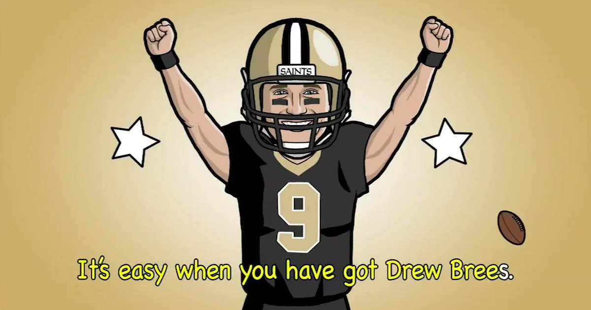 4943ca65190 'It's Easy As Drew Brees': A song every Saints fan is singing this season    FOX Sports