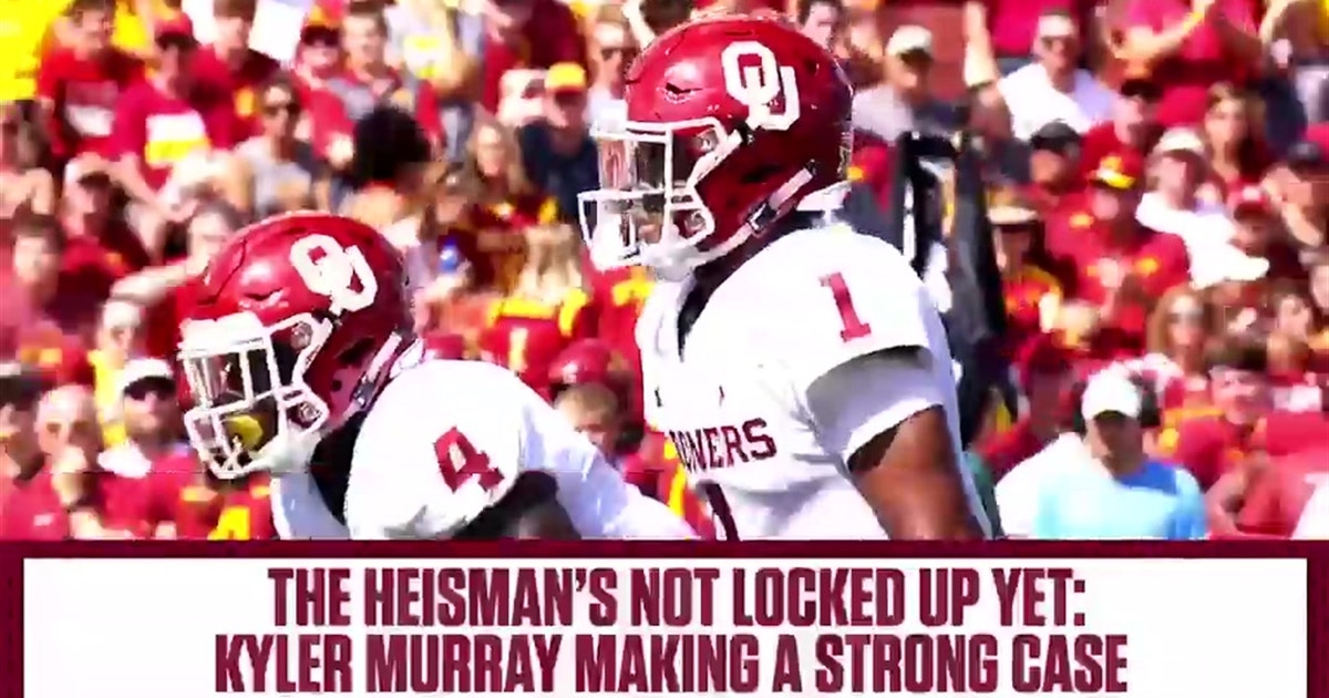 Kyler Murray is making a strong case that he should win the Heisman Trophy