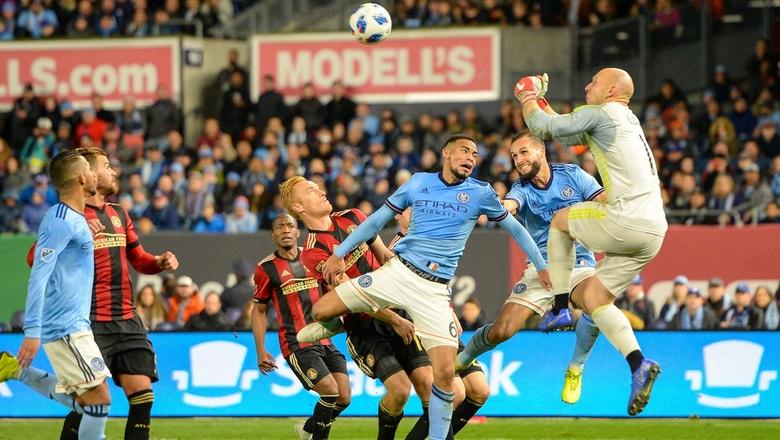 Brad Guzan, Michael Parkhurst set stage for second leg of Atlanta United vs. NYCFC