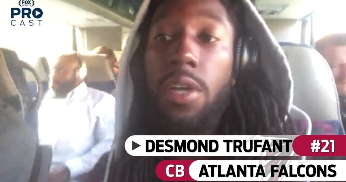 a985ce4ed8fc Falcons DB Desmond Trufant is locked in before Atlanta s game against  Washington