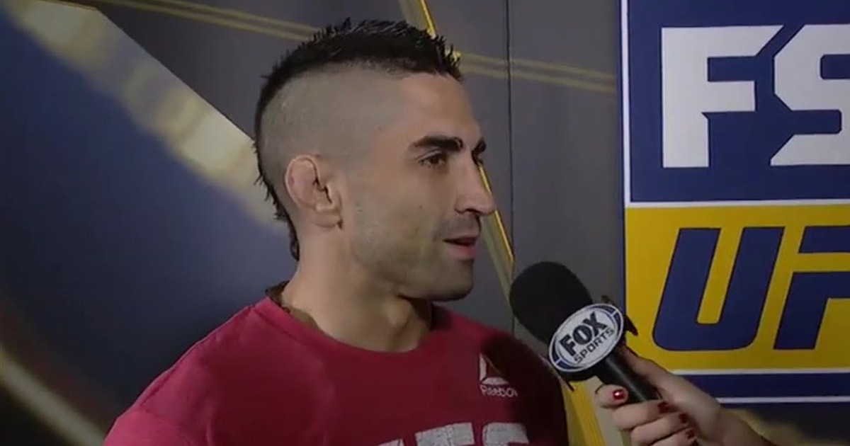 Ricardo Lamas talks with Heidi Androl | WEIGH-INS | INTERVIEW | UFC FIGHT NIGHT