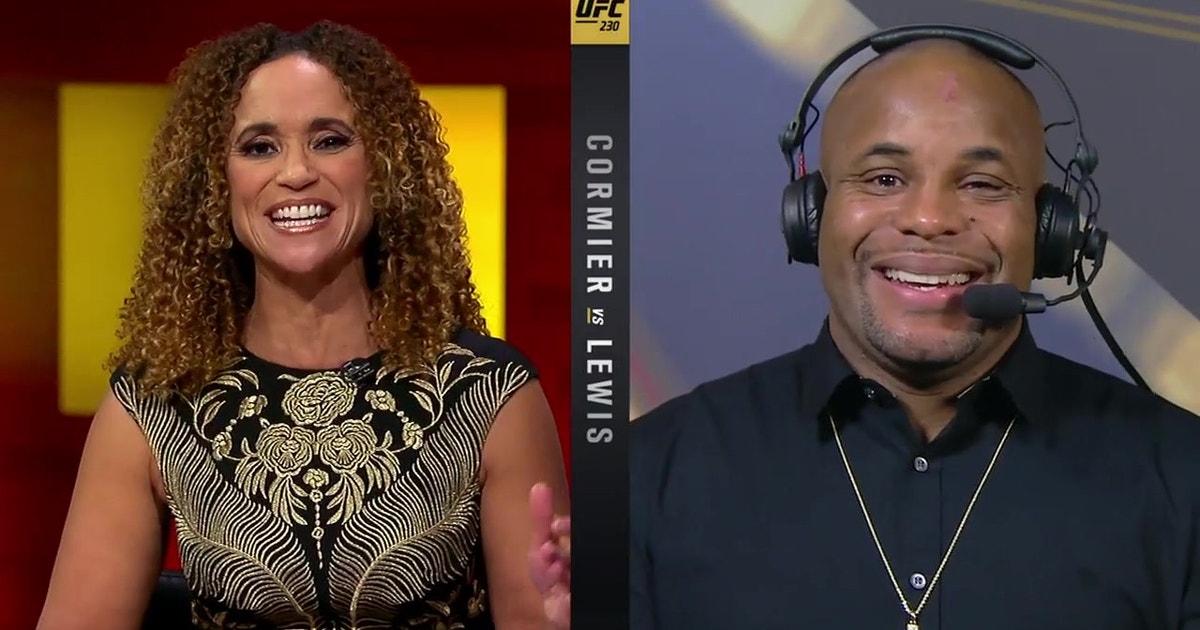 Daniel Cormier talks after defending his belt | INTERVIEW | POST-FIGHT | UFC 230