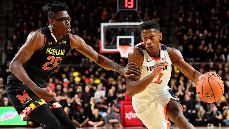 No. 4 Virginia takes down No. 24 Maryland 76-71 in ACC/Big Ten Challenge