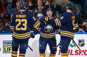 Sabres beat Canadiens 3-2 for 8th straight win