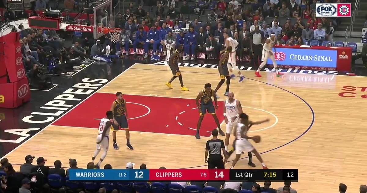 HIGHLIGHTS: Clippers beat Warriors in OT
