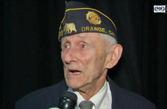Anaheim Ducks Pay Tribute to Military Veterans