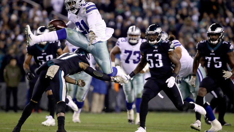 Elliott takes giant leap needed to lift Cowboys past Eagles
